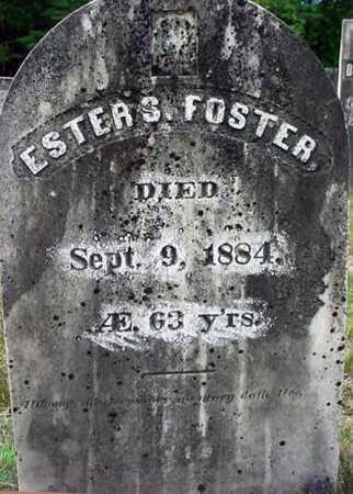 FOSTER, ESTER S. - Warren County, New York | ESTER S. FOSTER - New York Gravestone Photos