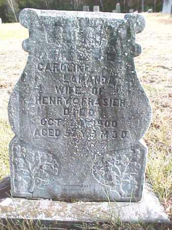 FRASIER, CAROLINE LAMANDA - Warren County, New York | CAROLINE LAMANDA FRASIER - New York Gravestone Photos