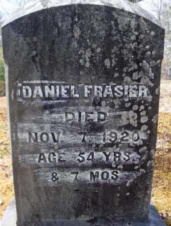 FRASIER, DANIEL - Warren County, New York | DANIEL FRASIER - New York Gravestone Photos