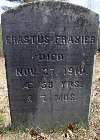 FRASIER, ERASTUS - Warren County, New York   ERASTUS FRASIER - New York Gravestone Photos