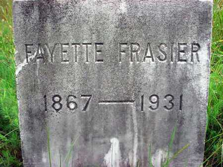 FRASIER, FAYETTE - Warren County, New York | FAYETTE FRASIER - New York Gravestone Photos