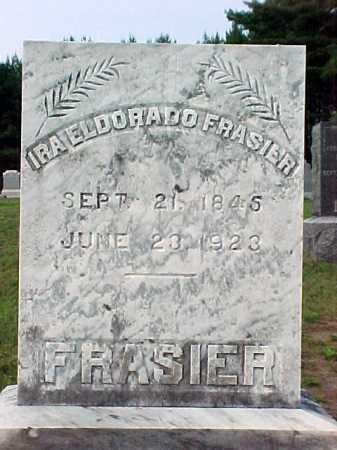 FRASIER, IRA ELDORADO - Warren County, New York | IRA ELDORADO FRASIER - New York Gravestone Photos