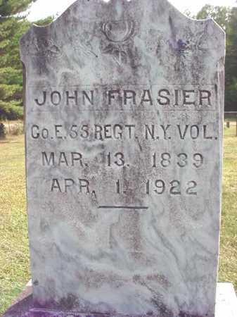 FRASIER, JOHN - Warren County, New York | JOHN FRASIER - New York Gravestone Photos