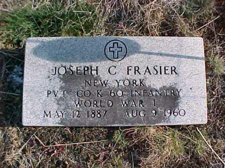 FRASIER, JOSEPH C - Warren County, New York | JOSEPH C FRASIER - New York Gravestone Photos