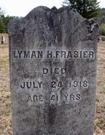 FRASIER, LYMAN H - Warren County, New York   LYMAN H FRASIER - New York Gravestone Photos