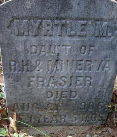FRASIER, MYRTLE M - Warren County, New York | MYRTLE M FRASIER - New York Gravestone Photos