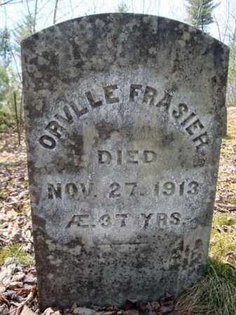 FRASIER, ORVILLE - Warren County, New York | ORVILLE FRASIER - New York Gravestone Photos