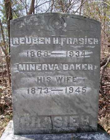 FRASIER, REUBEN H - Warren County, New York | REUBEN H FRASIER - New York Gravestone Photos