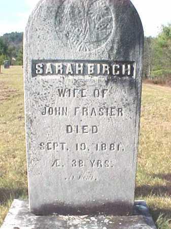 FRASIER, SARAH - Warren County, New York | SARAH FRASIER - New York Gravestone Photos