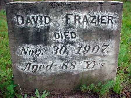 FRAZIER, DAVID - Warren County, New York | DAVID FRAZIER - New York Gravestone Photos