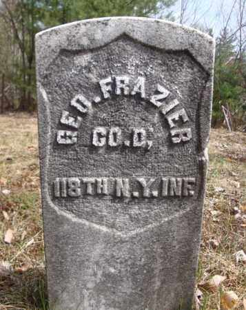 FRAZIER (CW), GEORGE - Warren County, New York   GEORGE FRAZIER (CW) - New York Gravestone Photos