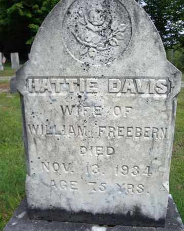 DAVIS, HATTIE - Warren County, New York | HATTIE DAVIS - New York Gravestone Photos