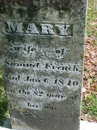FRENCH, MARY - Warren County, New York | MARY FRENCH - New York Gravestone Photos