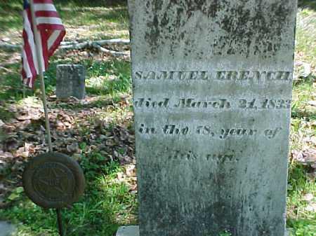 FRENCH, SAMUEL - Warren County, New York | SAMUEL FRENCH - New York Gravestone Photos