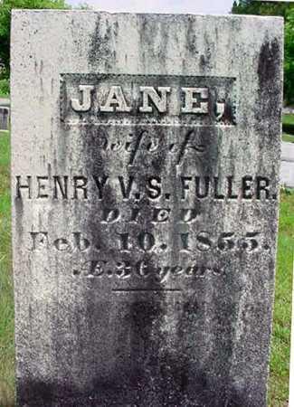 FULLER, JANE - Warren County, New York   JANE FULLER - New York Gravestone Photos