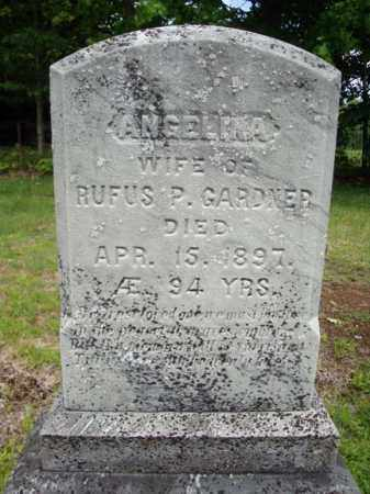 GARDNER, ANGELINA - Warren County, New York | ANGELINA GARDNER - New York Gravestone Photos