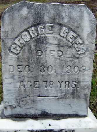 GEER, GEORGE - Warren County, New York | GEORGE GEER - New York Gravestone Photos