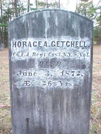 GETCHELL (CW), HORACE A - Warren County, New York   HORACE A GETCHELL (CW) - New York Gravestone Photos