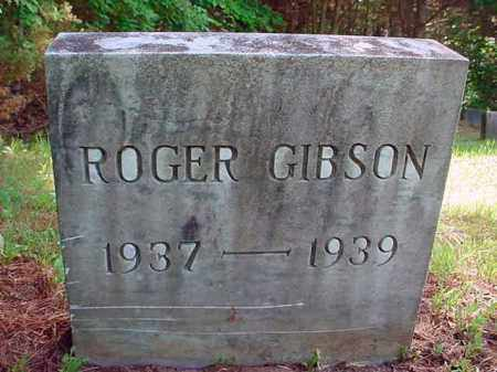 GIBSON, ROGER - Warren County, New York | ROGER GIBSON - New York Gravestone Photos