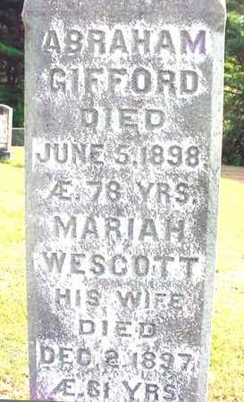 WESCOTT, MARIAH - Warren County, New York | MARIAH WESCOTT - New York Gravestone Photos