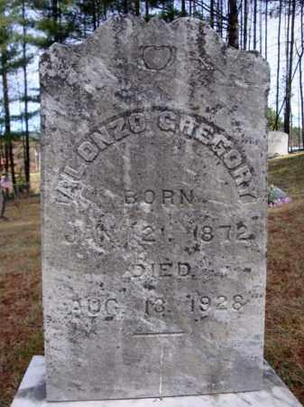 GREGORY, ALONZO - Warren County, New York | ALONZO GREGORY - New York Gravestone Photos
