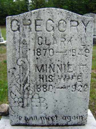 GREGORY, CLARK L - Warren County, New York | CLARK L GREGORY - New York Gravestone Photos