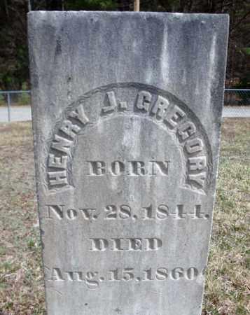 GREGORY, HENRY J - Warren County, New York | HENRY J GREGORY - New York Gravestone Photos