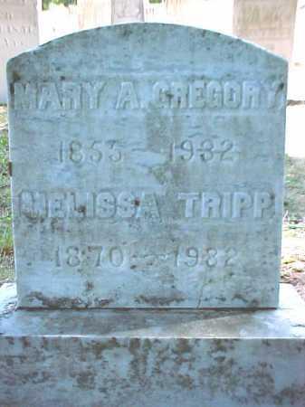 TRIPP, MELISSA - Warren County, New York   MELISSA TRIPP - New York Gravestone Photos