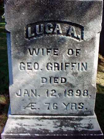 NELSON GRIFFIN, LUCY ANN - Warren County, New York | LUCY ANN NELSON GRIFFIN - New York Gravestone Photos