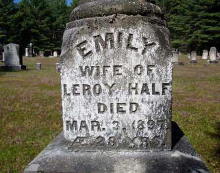 HAFF, EMILY - Warren County, New York | EMILY HAFF - New York Gravestone Photos