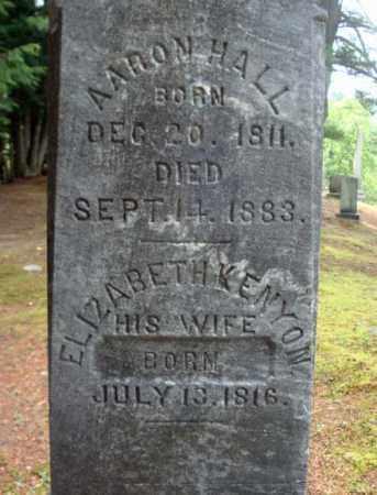 KENYON, ELIZABETH - Warren County, New York | ELIZABETH KENYON - New York Gravestone Photos