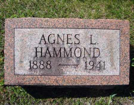 HAMMOND, AGNES L - Warren County, New York | AGNES L HAMMOND - New York Gravestone Photos