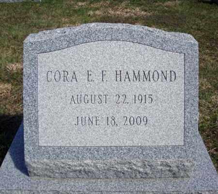 HAMMOND, CORA E F - Warren County, New York   CORA E F HAMMOND - New York Gravestone Photos