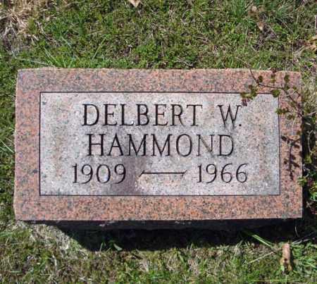HAMMOND, DELBERT W - Warren County, New York | DELBERT W HAMMOND - New York Gravestone Photos