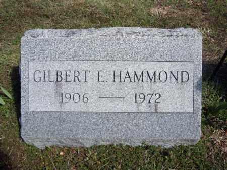 HAMMOND, GILBERT E - Warren County, New York   GILBERT E HAMMOND - New York Gravestone Photos