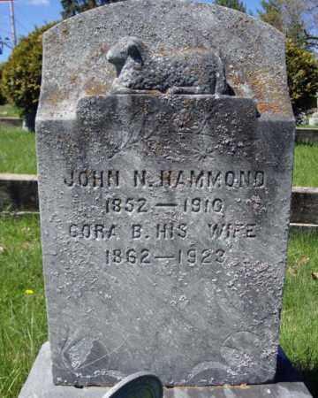 HAMMOND, JOHN N - Warren County, New York   JOHN N HAMMOND - New York Gravestone Photos