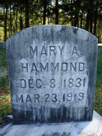 HAMMOND, MARY A - Warren County, New York | MARY A HAMMOND - New York Gravestone Photos