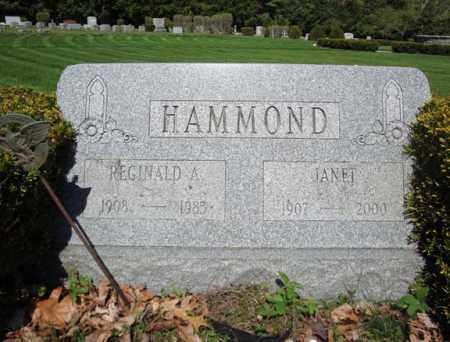 HAMMOND, JANET - Warren County, New York | JANET HAMMOND - New York Gravestone Photos