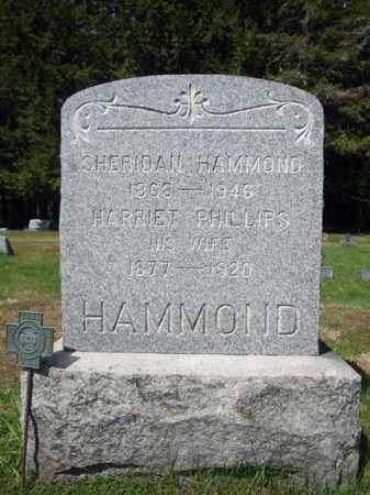 HAMMOND, SHERIDAN - Warren County, New York | SHERIDAN HAMMOND - New York Gravestone Photos