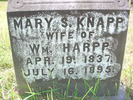 HARPP, MARY S - Warren County, New York | MARY S HARPP - New York Gravestone Photos