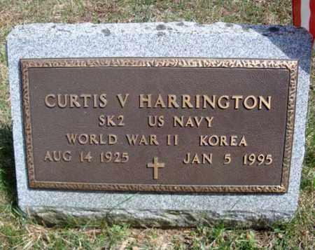 HARRINGTON, CURTIS V - Warren County, New York   CURTIS V HARRINGTON - New York Gravestone Photos
