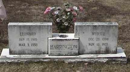 HARRINGTON, MYRTLE - Warren County, New York | MYRTLE HARRINGTON - New York Gravestone Photos