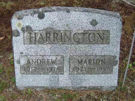 HARRINGTON, MARION - Warren County, New York   MARION HARRINGTON - New York Gravestone Photos