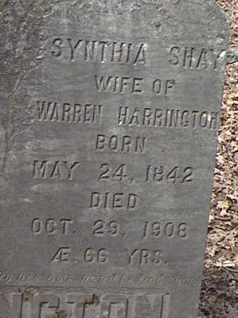 SHAY, SYNTHIA - Warren County, New York | SYNTHIA SHAY - New York Gravestone Photos