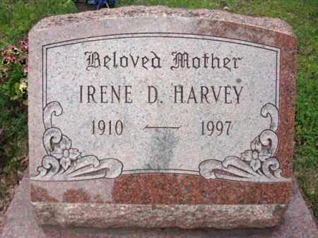 HARVEY, IRENE D - Warren County, New York | IRENE D HARVEY - New York Gravestone Photos