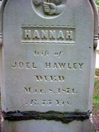 HAWLEY, HANNAH - Warren County, New York | HANNAH HAWLEY - New York Gravestone Photos