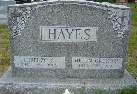GREGORY HAYES, HELEN - Warren County, New York | HELEN GREGORY HAYES - New York Gravestone Photos