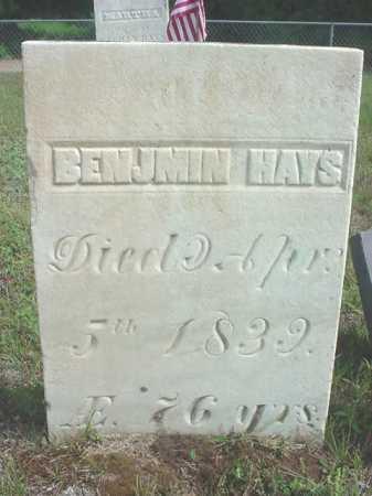 HAYS, BENJAMIN - Warren County, New York | BENJAMIN HAYS - New York Gravestone Photos