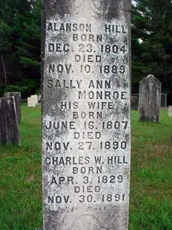 HILL, ALANSON - Warren County, New York | ALANSON HILL - New York Gravestone Photos