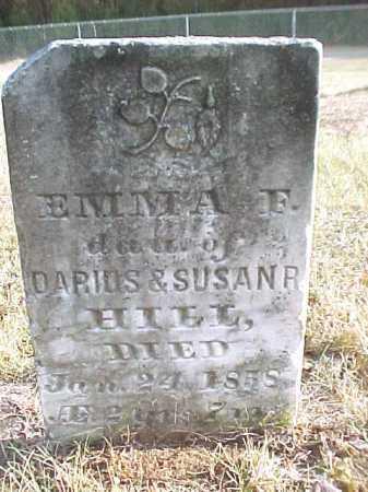 HILL, EMMA F - Warren County, New York | EMMA F HILL - New York Gravestone Photos